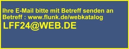 E-Mail für Webkatalog Eintrag. Bitte den genauen Betreff einfügen